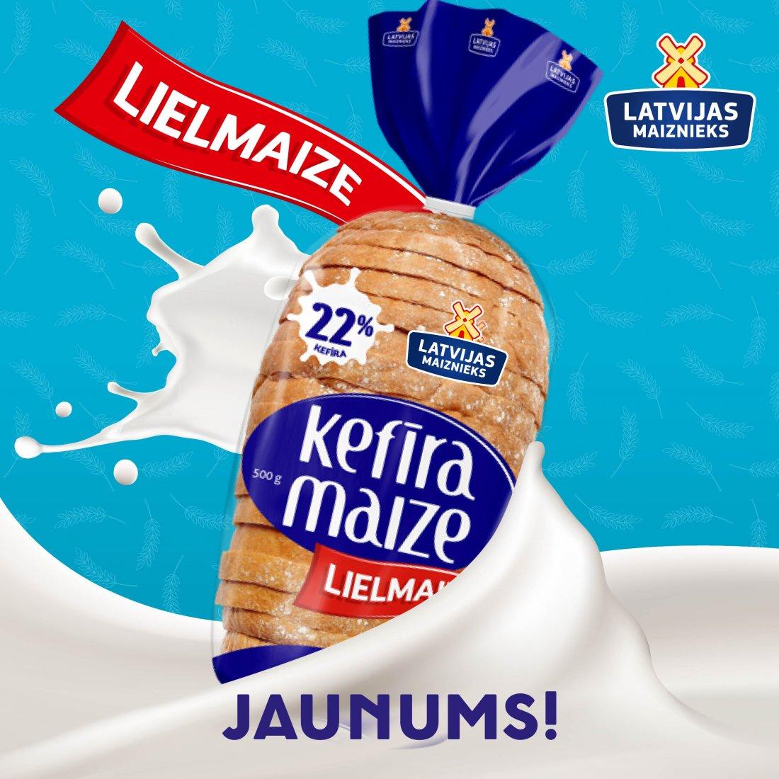 Kefīra maize