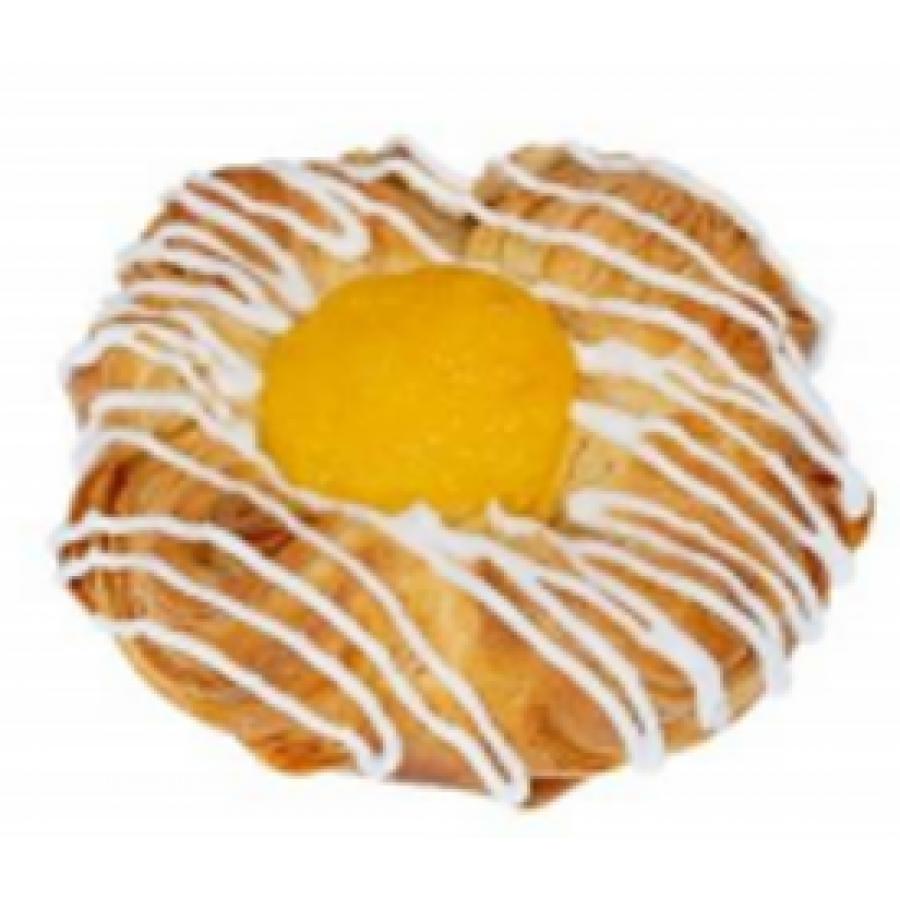 Dāņu maizīte ar vaniļas garšas pildījumu