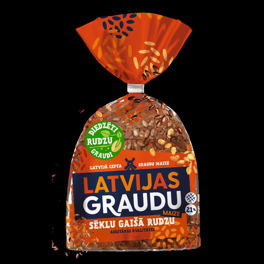 """""""LATVIJAS graudu maize"""" sēklu gaišā rudzu"""