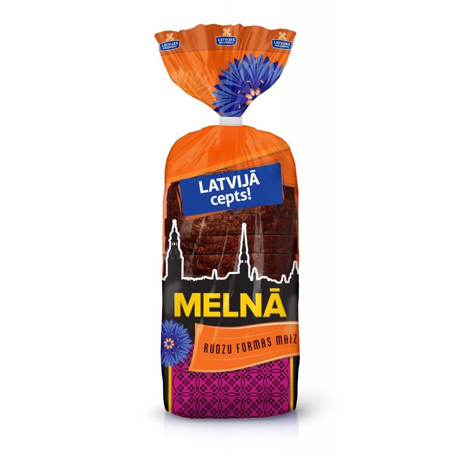 """""""LATVIJĀ CEPTS!"""" Melnā rudzu formas maize"""