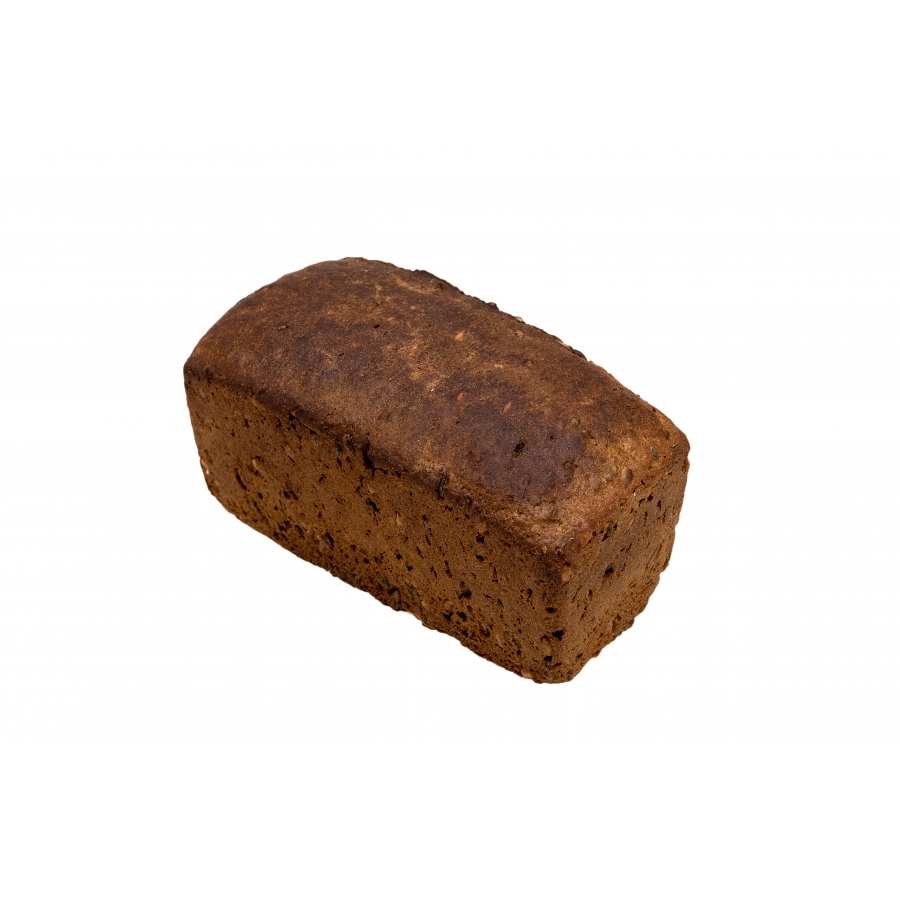 Saldskābā formas maize ar diedzētiem graudiem